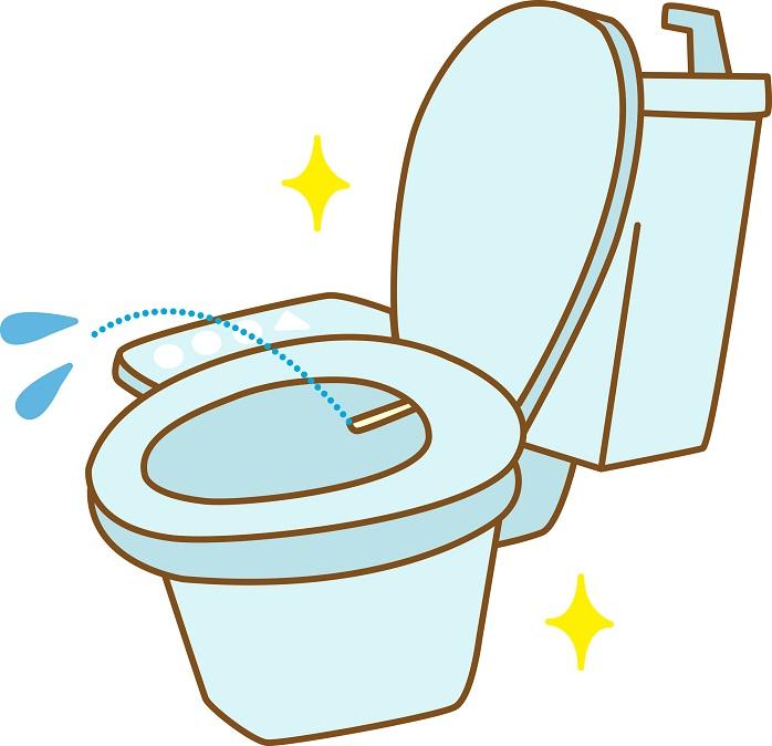 トイレの温水洗浄便座の水勢について