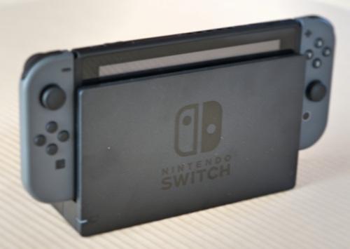 帰宅したら Nintendo Switch が鎮座してた