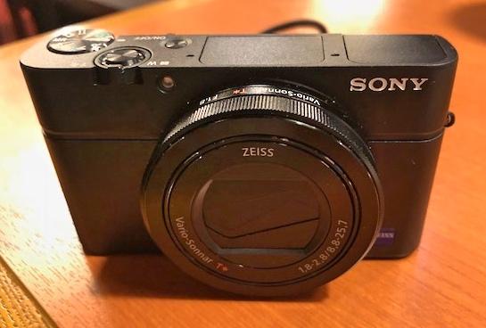 ソニーのカメラ:DSC-RX100M3を買ったからファーストインプレッション