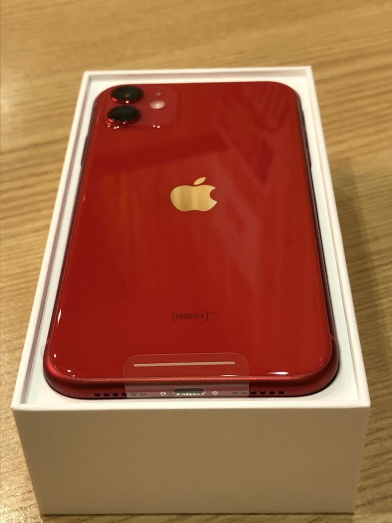 iPhone11、プロダクトレッド、PRODUCT RED