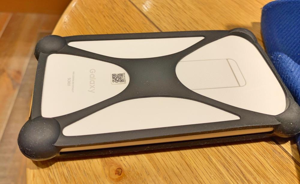220円! Galaxy 5G Mobile Wi-Fi ルーターにフィットするカバーとフィルム